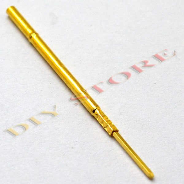 BIlinli 100 Piezas Di/ámetro 1.02 mm Longitud 15.85 mm 100 g Sonda de Prueba de Resorte Pogo Pin Tool P75-B1