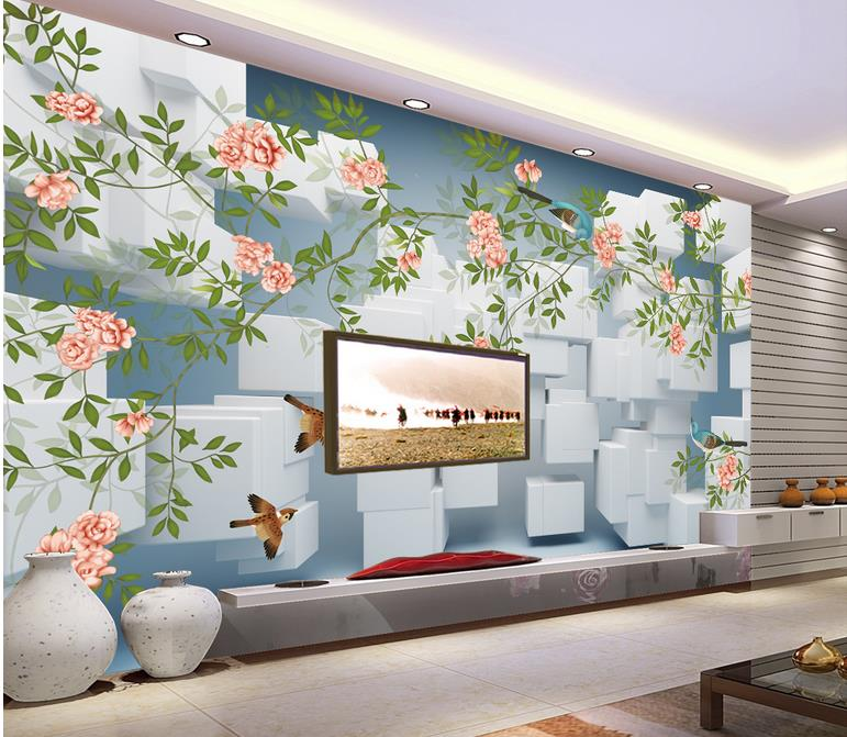 Luxury Wall Paper Customized 3d Wallpapers 3d Living Room Wallpaper