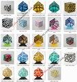 24 diseños Fantasma Cubo Cubo Mágico Colección debe tener artículo con Adhesivo Extra Idea del Regalo de Cumpleaños de Juguete para Niños de La Gota gratis