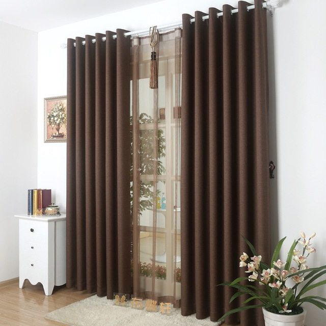 high end groene hotel gordijnen voor living eetkamer slaapkamer linnen volledige shading doek gordijn techniek