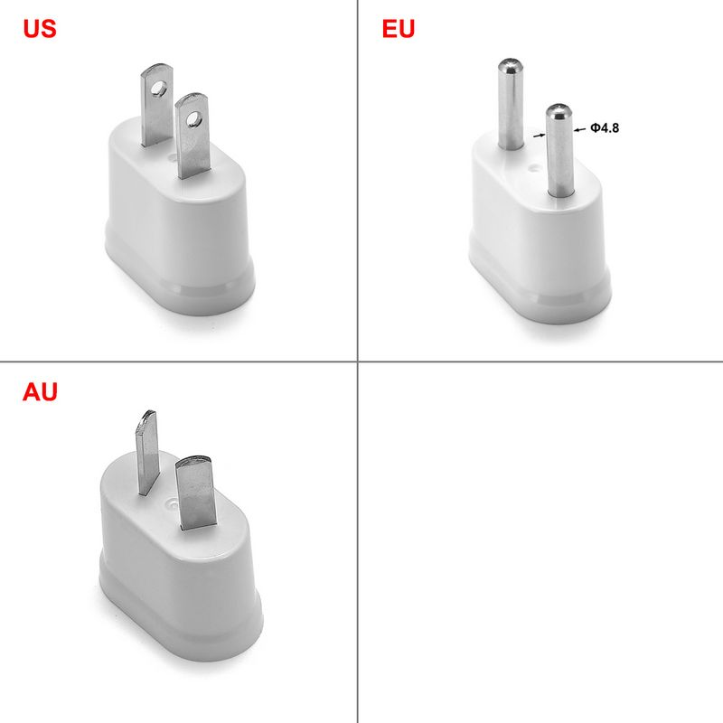 EU KR US AU Power Adapter Socket Euro Japan China Australian Travel Adapter Electric Plug Converter Sockets Outlet