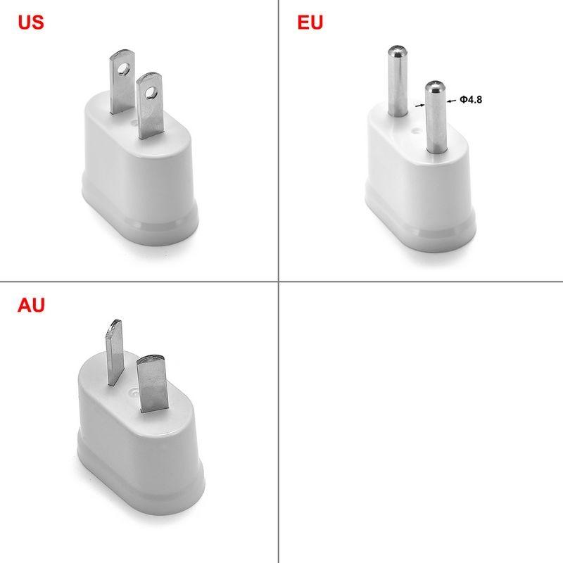 EU KR US AU Power Adapter Socket Euro Japan China Australian Travel Adapter Electric Plug Converter Sockets Outlet