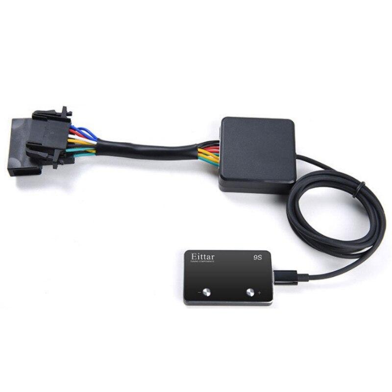 Auto contrôleur d'accélérateur électronique voiture pédale de gaz Booster voiture style Automobile Modification pour LEXUS RC F 2014.10 +