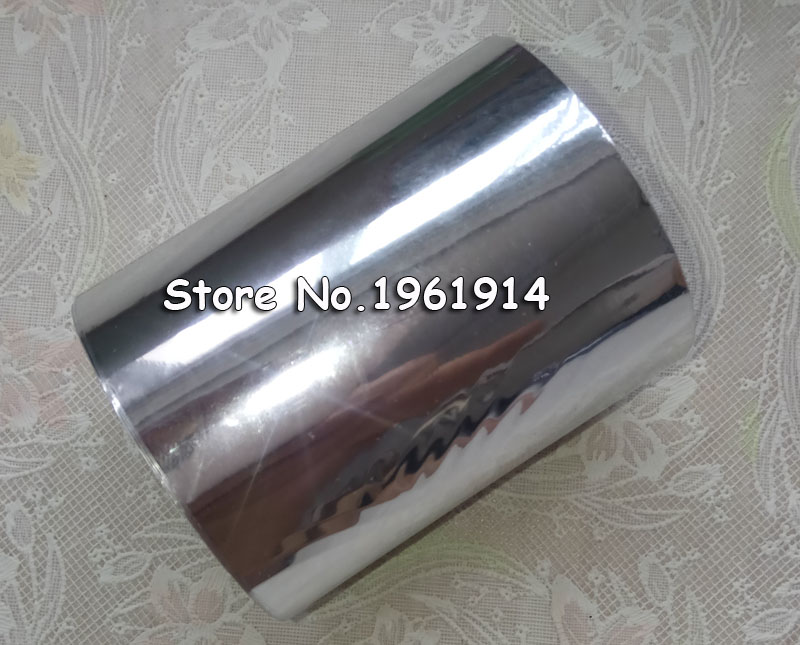 1Rolls Silver Color 80mmx120M Hot Stamping Foil Heat Transfer Napkin Gilding PVC business Card Emboss 1 roll 8 3x131yards 21cmx120m gold color hot stamping foil heat transfer laminating napkin gilding pvc business card emboss