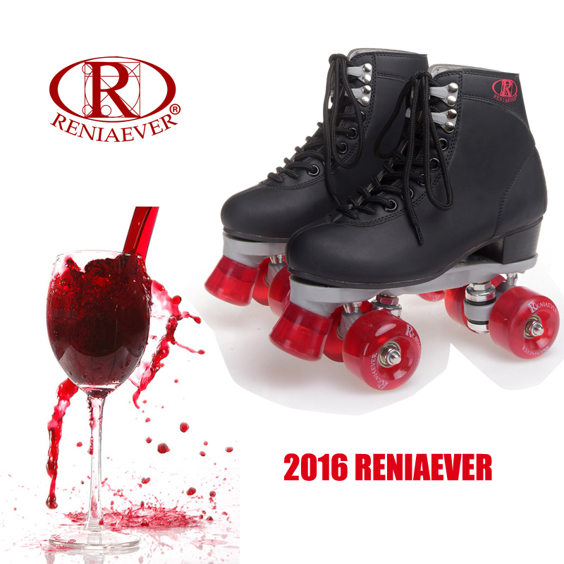 Red Wine Roller Skates Double Line Skates Women Lady Model Adult Racing 4 Wheels Two line Roller Skating Shoes Patines children adult parenting two line roller shoes skating 4 wheels double row skates patins kids pu wheels adjustable unisex ib42
