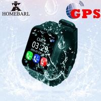 V7K Kids GPS Watch Tracker Children Kid Security Anti Lost Life Waterproof Smart Watch Camera SOS PK Q90 Q50 Q60 Q528 DZ09 DF33