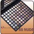 2017 new 88 cores quentes poder sombra de olho/sombra neutra paleta maquiagem nude