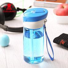 2015 hohe Qualität Marke Sportflasche Korea Stil Plastikwasserflasche Saft Cicycle Cup Trink 500 ml