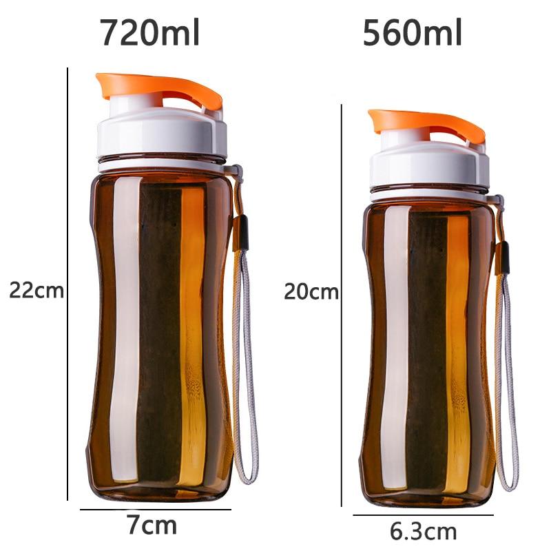 HTB1g9gEB3KTBuNkSne1q6yJoXXam Plastic Sports Water Bottles, Sport Drinking Bottles, Portable Tea Bottle, 19oz & 24oz