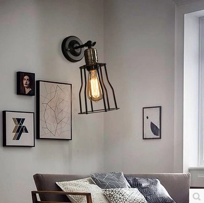Provided Wandlampen Edison Vintage Wall Lamp In Style Loft Industrial Wall Sconce Led Stair Light Arandela Lamparas De Pared Led Indoor Wall Lamps