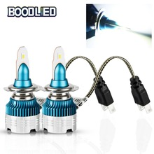 2pcs H7 LED Car Headlight Bulbs H1 H4 H3 H11 H13 880 9004 9005 9006 9007 9012 CSP Y19 Chip Auto Front Headlamp