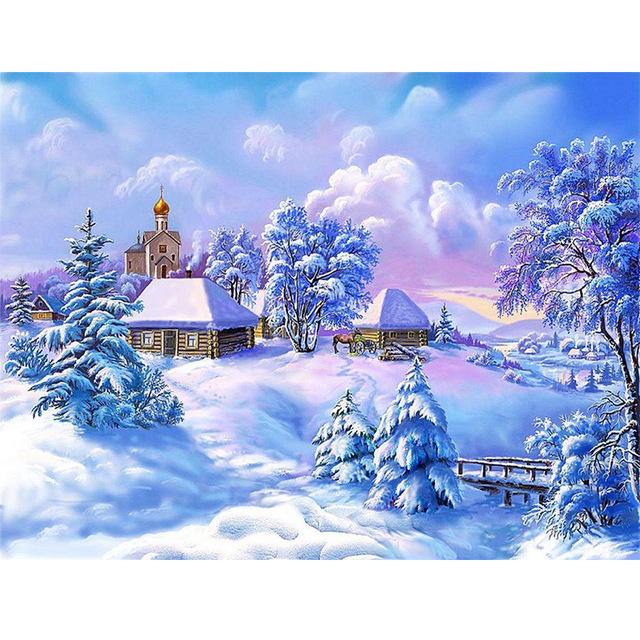 Handcraft-FULL-Diamond-3D-Snow-scenery-on-canvas-DIY-diamond-painting-cross-stitch-diamond-mosaic-embroidery.jpg_640x640