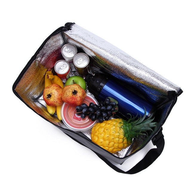 QingGuiLv High Quality Oxford Cloth Large Lunch Bag Bolsa Termica  Food Cold Insulation Picnic Bag Cooler Bag Thermo Bag