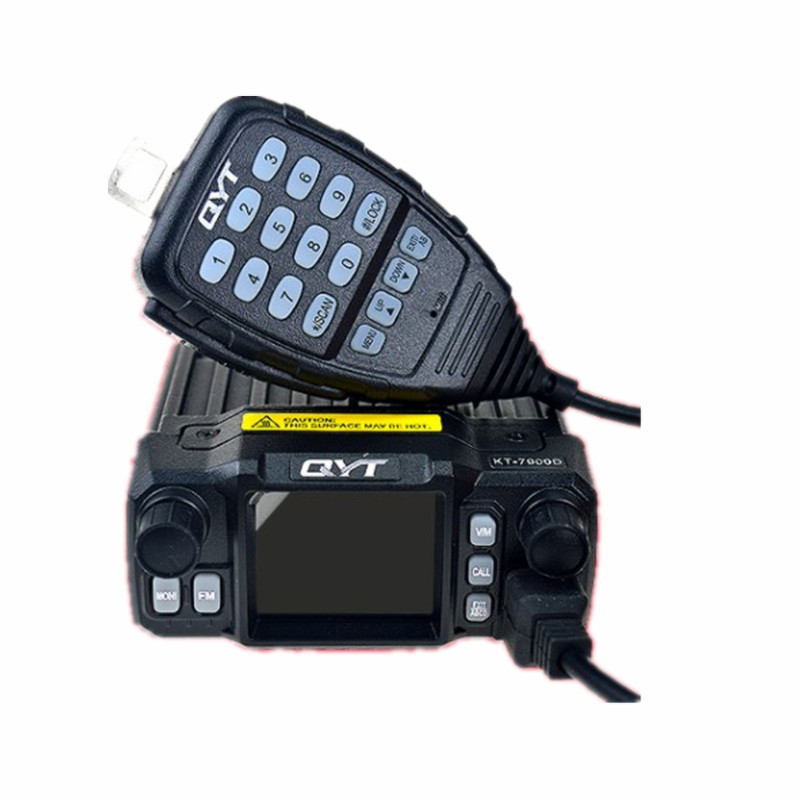 25W <font><b>QYT</b></font> <font><b>KT</b></font>-<font><b>7900D</b></font> Car Radio tri band mobile radio Vehicle Mounted large color screen wireless speaker walkie talkie Transceiver image
