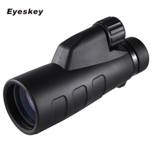 50mm Large Bore Hd Monocular Eyeskey High Magnification Waterproof Telescope for Outdoor Caming Hunting with BaK4 Prism Optics цена и фото