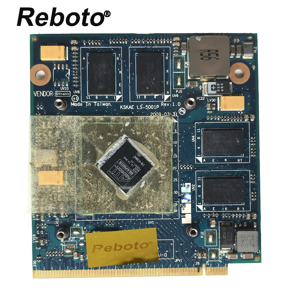 Original Laptop Video Graphic Card FOR Toshiba L500 L550 L555 HD 4650M 1GB K000083290 KSKAE LS