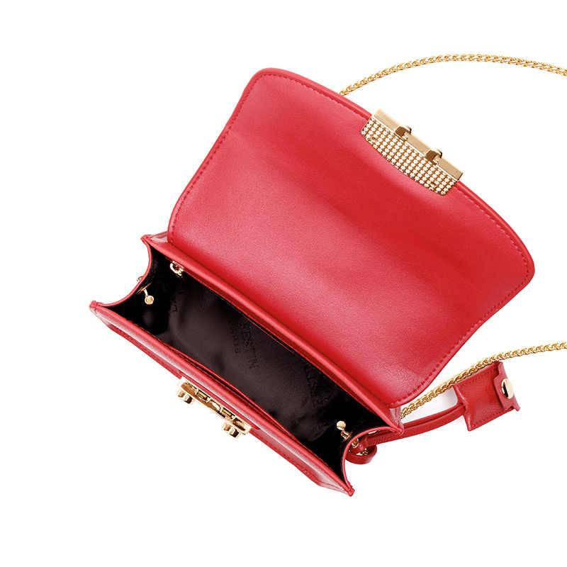 LAFESTIN известная сумка на плечо женская дизайнерская сумка из натуральной кожи с клапаном через плечо роскошная сумка многофункциональные брендовые сумки bolsa