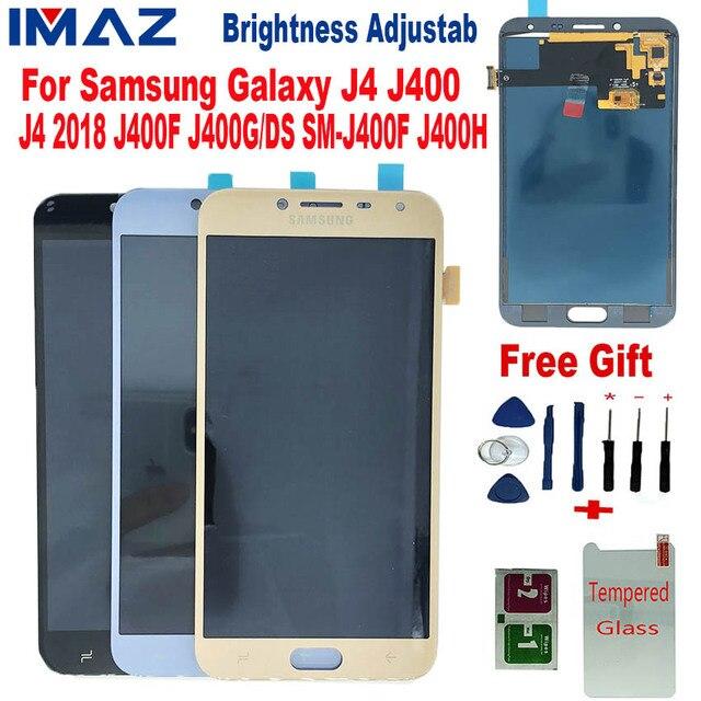 "IMAZ 5,5 ""para Samsung Galaxy J4 2018 J400 J400F J400H J400M J400G/P pantalla táctil digitalizador reemplazo piezas para J4 LCD"