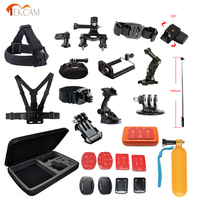 Tekcam Action Camera Accessories Set For GoPro Hero 6 5 4 3 Xiaomi Yi 2 4k