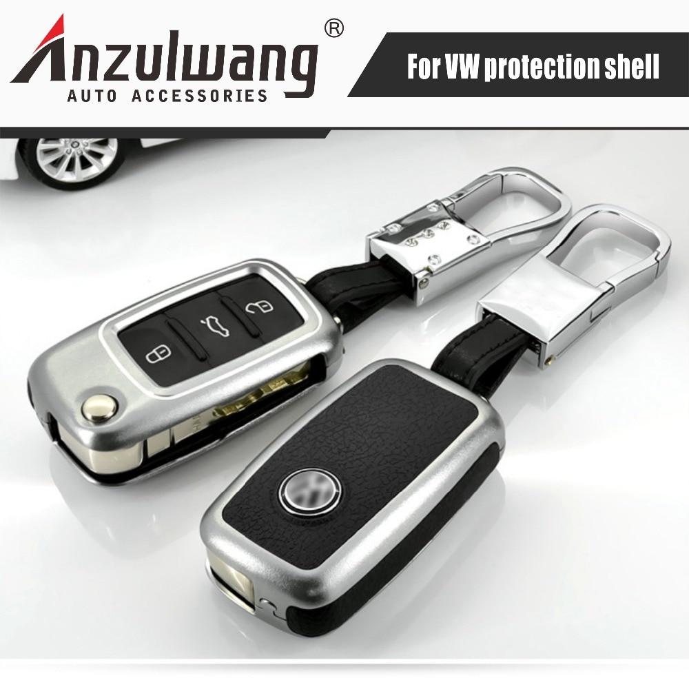 Autosleutelhuls voor de Volkswagen New Long Mata Teng Suteng Passat voorbijgangers Santana Golf Polaris sleutelhoes