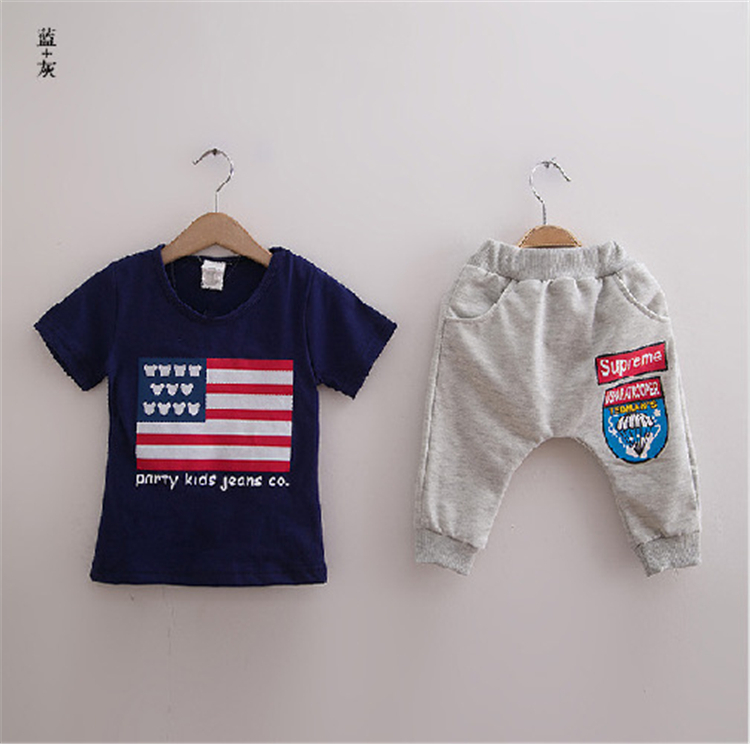 2015 new 3-8 years children's clothing Track suit brand boys/girls - Children's Clothing - Photo 5