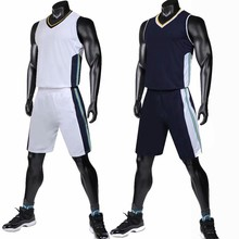 Одежда высшего качества Для мужчин баскетбольное Устанавливает DIY форма  Спортивная одежда Дышащие Рубашки Шорты карманы индивидуальные 7a6c055928f