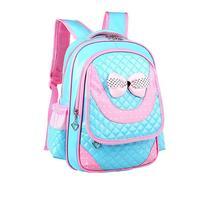 2017 Girls High Quality Children Students Sports Bag Backpacks Kids Nylon Backpack Double Shoulder Outdoor Camping