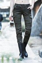 Uglybros motorpool отдых мотоцикл джинсы/мода дамы брюки для верховой езды