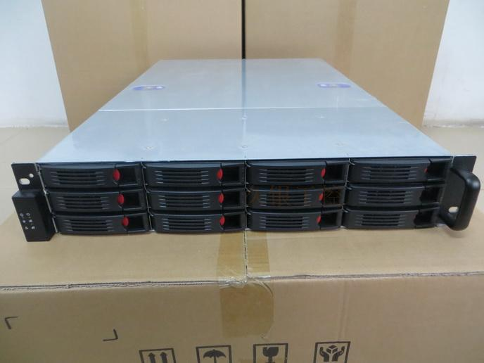 Computer server chassis 2U12 disk hot swap Support for Xeon dual for CPU motherboard to store data data cloud server chassis