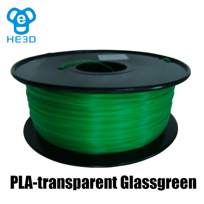 PLA-transparent Glassgreen