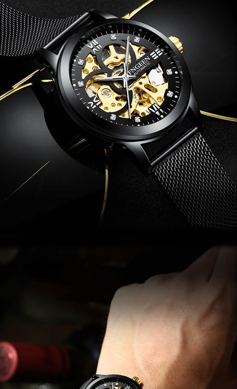 HTB1g9jnKhSYBuNjSsphq6zGvVXas Skeleton Watch 2019 New FNGEEN Sport Mechanical Watch Luxury Watch Mens Watches Top Brand Montre Homme Clock Men Automatic Watch