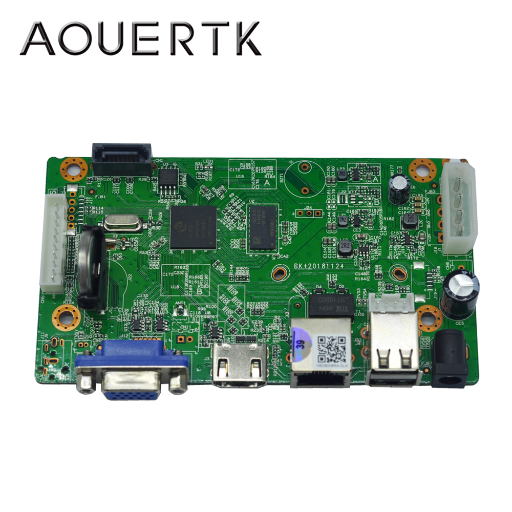 AOUERTK 4MP/5MP 8CH P2P H.265 NVR IP video Recorder CCTV NVR Main Board ONVIF HI3536 chip 2 USB Surveillance network NVR