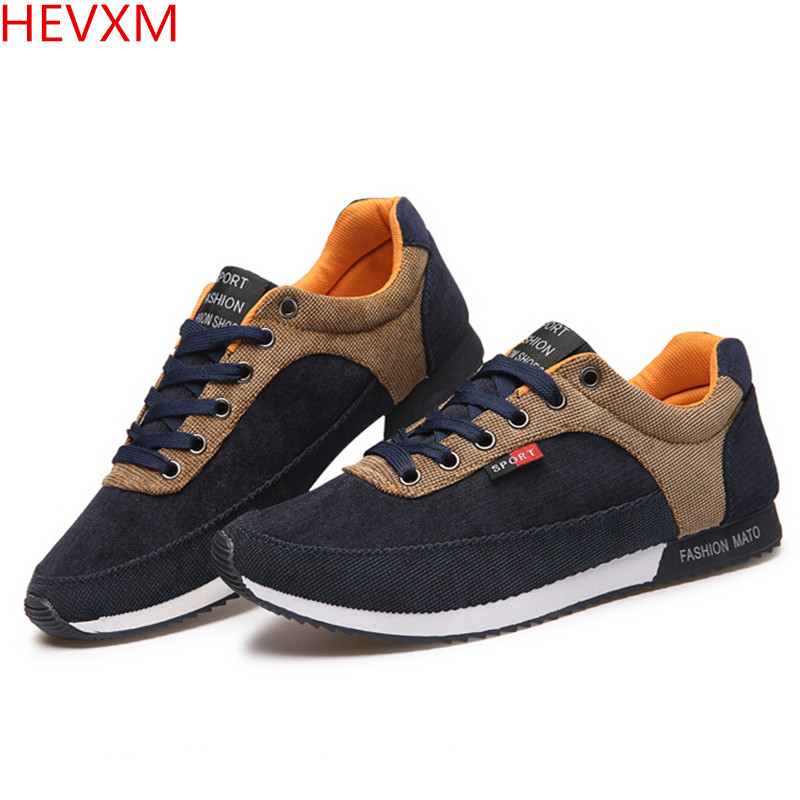 HEVXM HIGH QUALITY MEN CASUAL SHOES BREATHABLE TRAINERS FASHION BRAND DESIGNER SHOES MEN S CASUAL SHOES