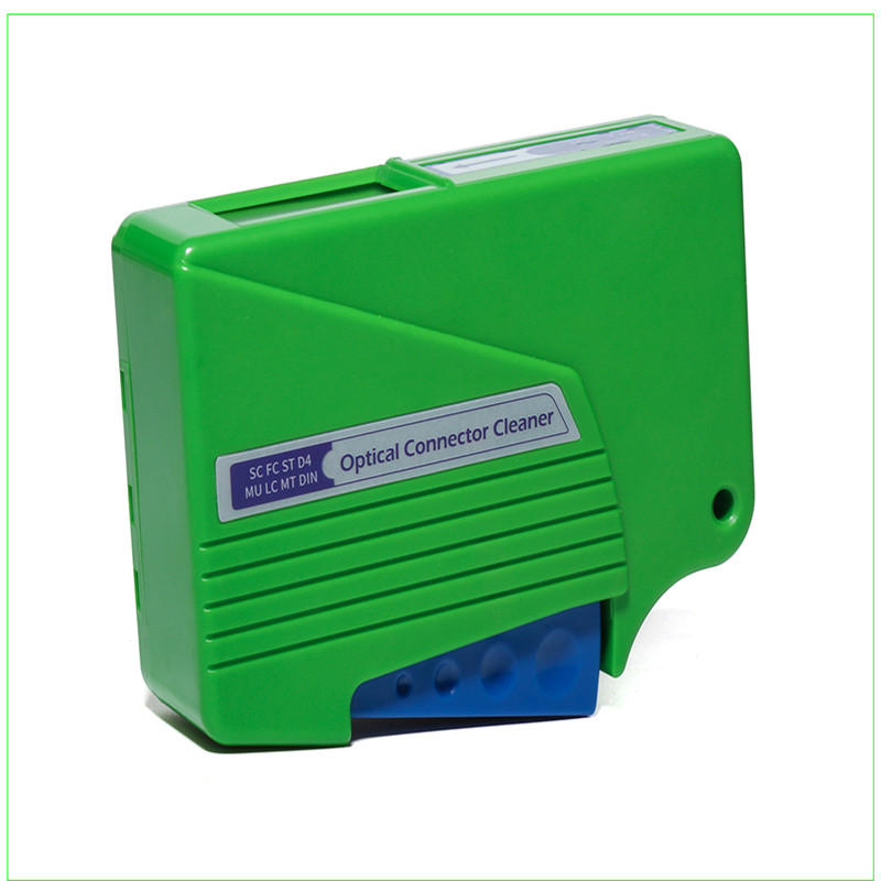 Image 4 - Fiber end face cleaning box, fiber wiping tool, pigtail cleaner, cassette fiber cleaner,Fiber Optic Cleaner-in Fiber Optic Equipments from Cellphones & Telecommunications