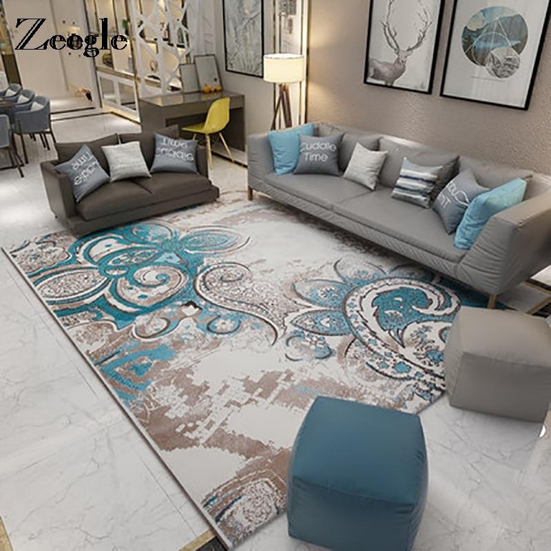 Zeegle Teppich Teppiche Für Wohnzimmer Bereich Teppich Boden Matte  Schlafzimmer Moderne Yoga Teppich Große Teppich Für Baby Home Decor
