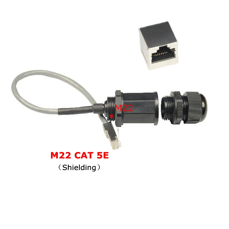 cat5e rj45 waterproof m22 shielding network cable. Black Bedroom Furniture Sets. Home Design Ideas