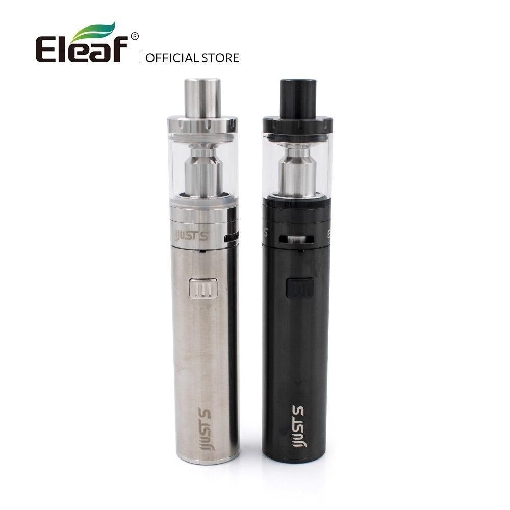 Original Eleaf iJust S kit mit eingebaute 3000 mah batterie EC Kopf 0.5ohm Kopf Top Füllung 4 ml Elektronische Zigarette