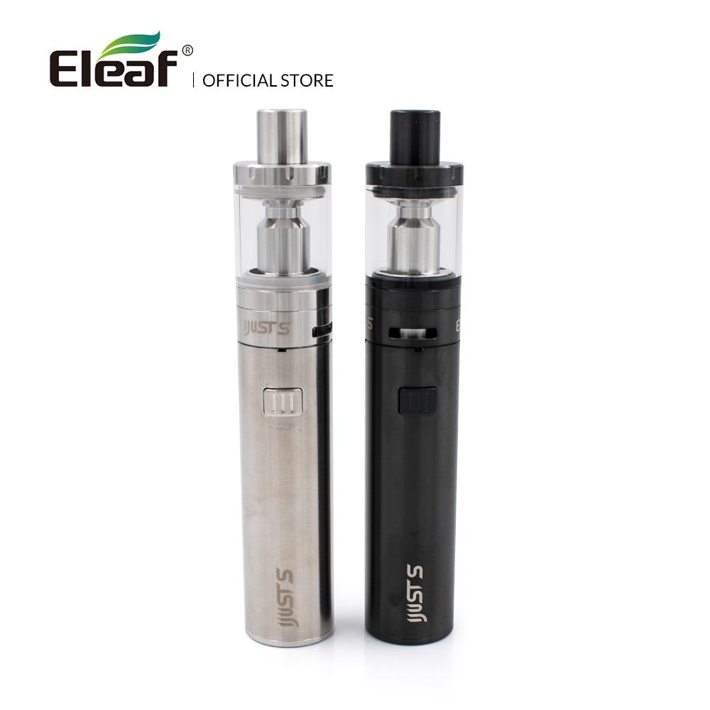 Originale Eleaf iJust S kit con built-in 3000 mah batteria EC Testa 0.5ohm Testa Top di Riempimento 4 ml Sigaretta Elettronica