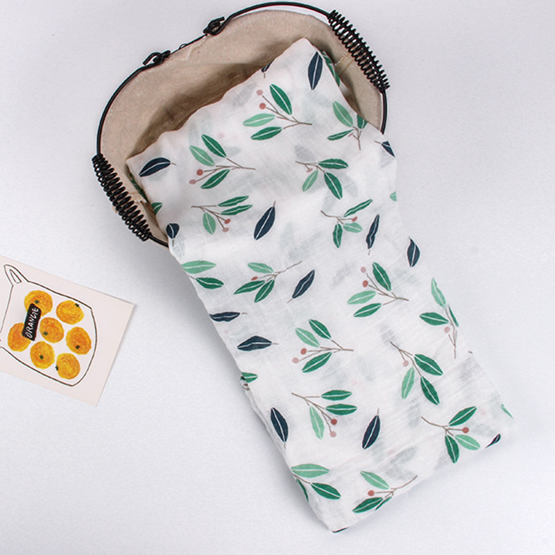 Baby Blanket Newborn Baby Muslin Blanket Swaddle Bamboo Cotton Soft Baby Bath Towel Swaddle Blankets