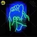 Еда здоровье спа неоновая вывеска неоновая лампа ручной работы для отдыха комнаты бара стены знаковая вывеска свет неоновая художественна...