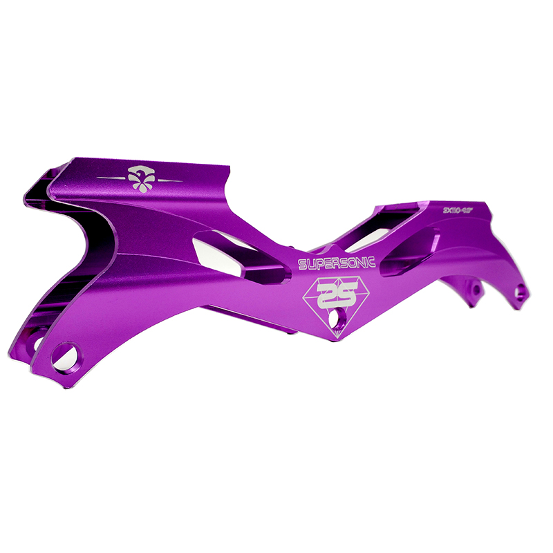free shipping speed skates frame 3 x 110 mm purple color free shipping hockey skates black color 507