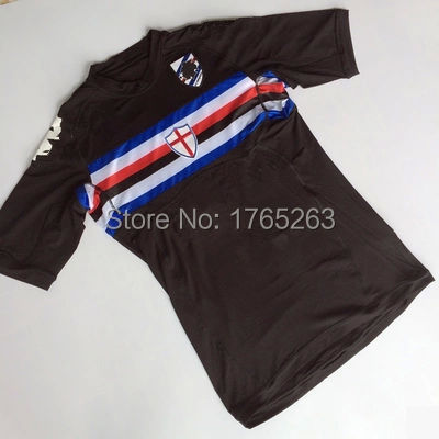 63fed56d8 Free shipping Sampdoria soccer jerseys Thailand quality Sampdoria jersey 15  16 uc Sampdoria survetement football soccer jersey-in Soccer Jerseys from  Sports ...