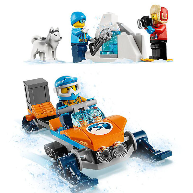 3f3d0812d845 Bela 10992 City Arctic Exploration Team Model Building Block Bricks Toys  Compatible With Legoings City 60191