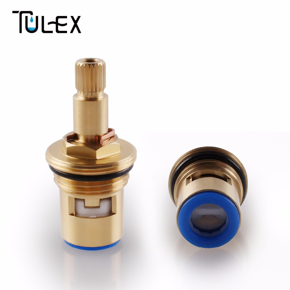 High Standard Ceramic Disc Faucet Cartridge Spout Brass Replacement Water Mixer Tap Inner Valve Core Quarter Turn Best Price 40mm ceramic disc cartridge inner faucet valve water mixer tap y05 c05