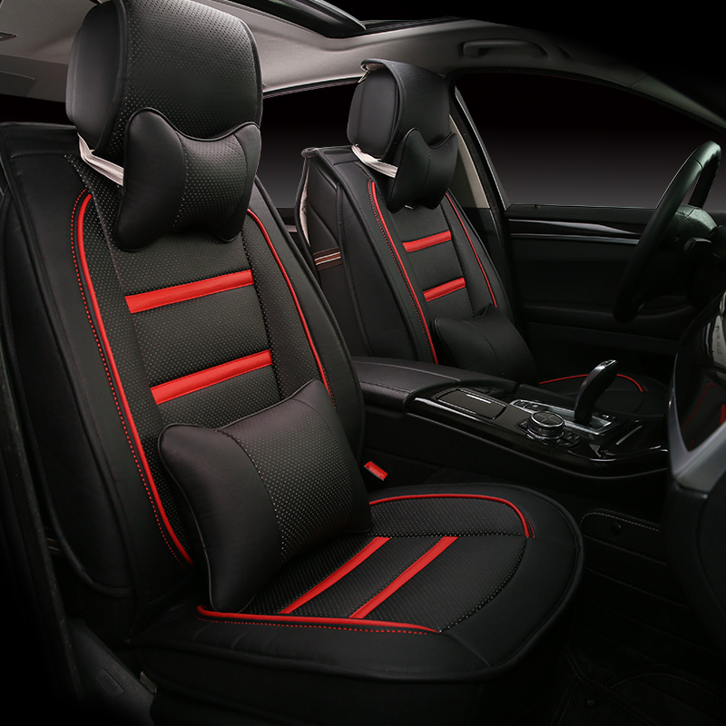 3D Styling Car Seat Cover For  Nissan altima Rouge X-trail Murano Sentra Sylphy versa sunny Tiida,High-fiber Leather,Car pad