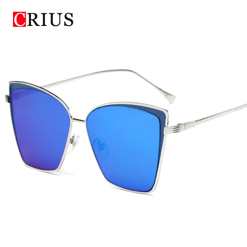 H 2017 new Classic trend women s sunglasses women vintage metal frame Couple sun glasses women