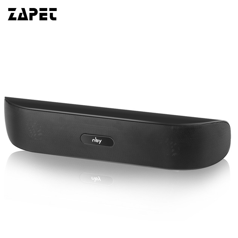 ZAPET Speaker Bluetooth Speaker Mini Wireless Portable Support TF Card FM Radio with 3D Stereo Music for iphone xiaomi samsung wireless bluetooth headphone stereo hifi headset music earphone support tf card fm radio with mic for iphone xiaomi samsung