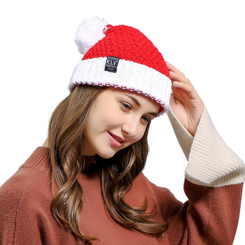 Initiative Outdoor Sports Running Cap Winter Santa Claus Knitted Wool Hat Halloween Creative Gift Wool Hat Running Cap For Xmas Holiday To Assure Years Of Trouble-Free Service