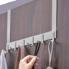 Seamless 304 stainless steel free punching door hook bedroom hanger back coat