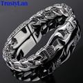 Trustylan moda nuevo encanto del acero inoxidable pulsera de los hombres de la vendimia totem mens pulseras 2017 fresco de la joyería masculina pulsera joyas